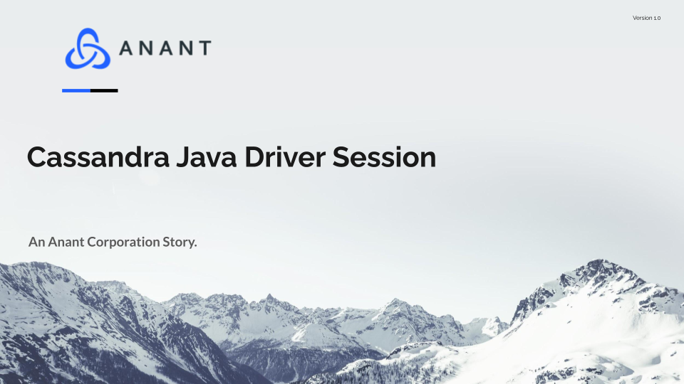 Cassandra Java Driver Session
